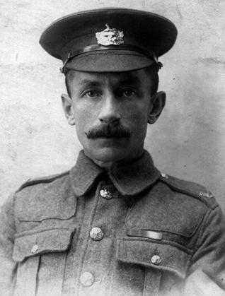 34768 Pte Herbert Richard Hallam, Gloucestershire Regiment