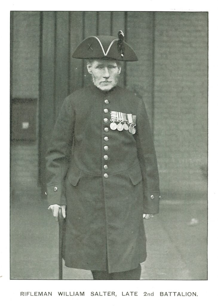 3853 Rfm William Salter, 2nd Bn, Rifle Brigade
