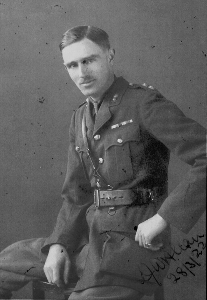 Lt Arthur John William Allan, RGA