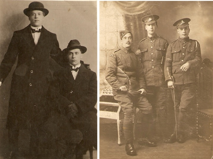 Remembrance: Jack, Sid, Edgar, Alf and Walter Nixon