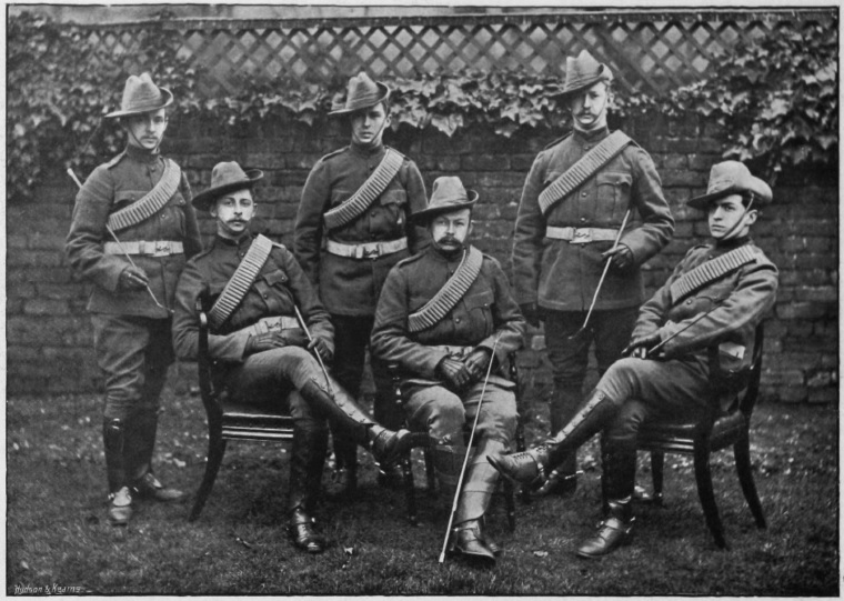 Westley brothers, 62 Coy, Imperial Yeomanry 1900