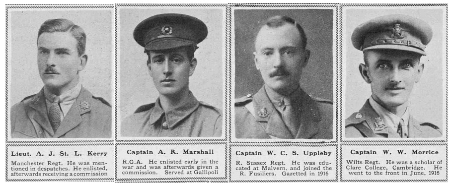 Officer casualties, The Sphere, March 1918 - British Army Ancestors