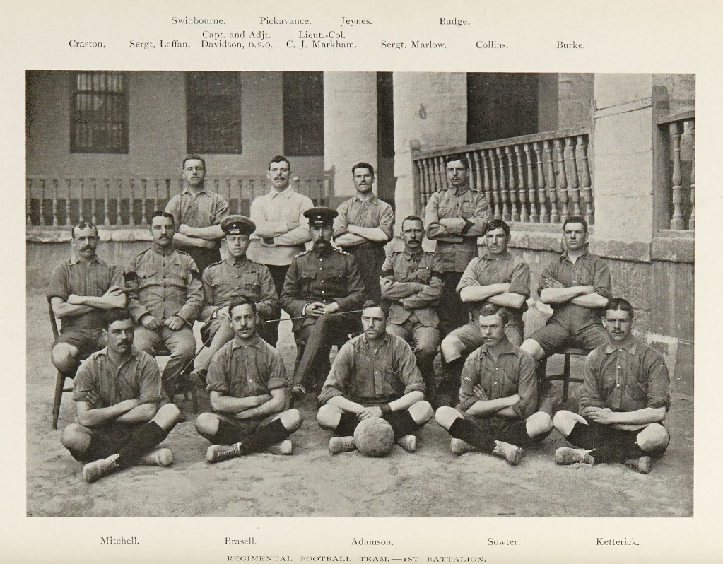 King's Royal Rifle Corps football team 1905