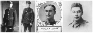 George Percy, William Brewerton, John Trotter