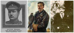 Oliver Brooke, Henry Williamson, William Newby