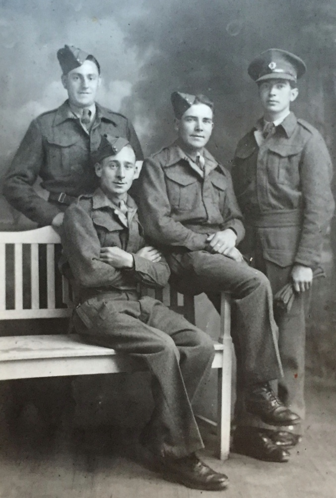 British Army prisoners of war from the Second World War