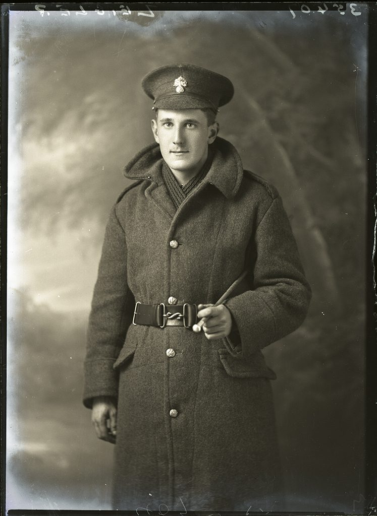 Philip Ziegler, Royal Fusiliers