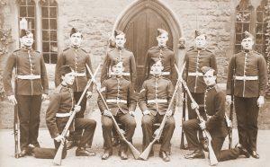Saltley College Guard 1907