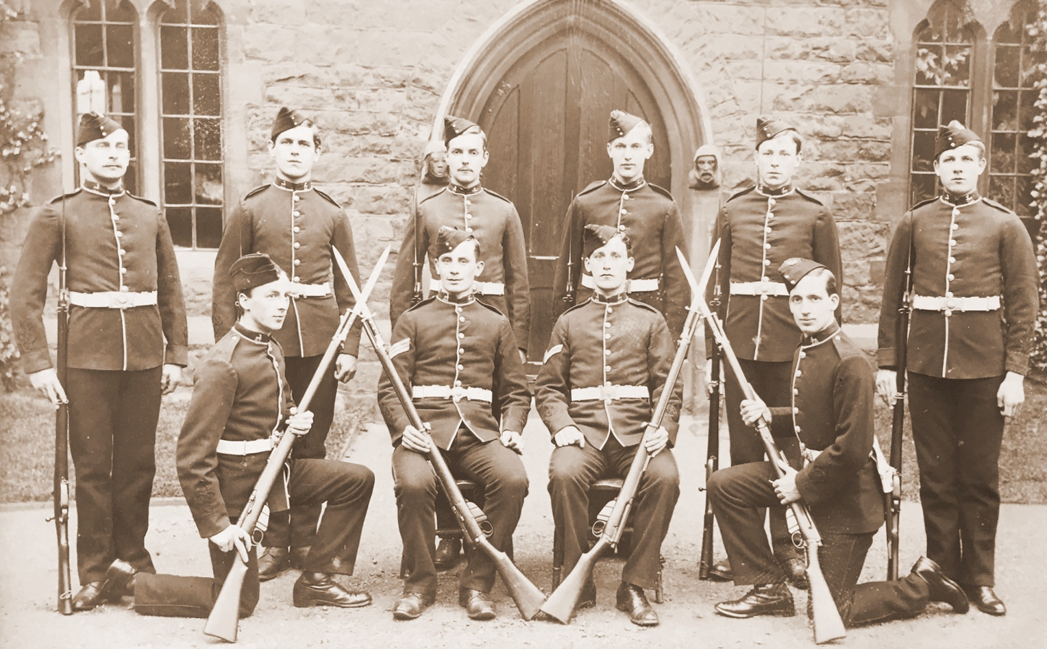 Saltley College Guard 1907