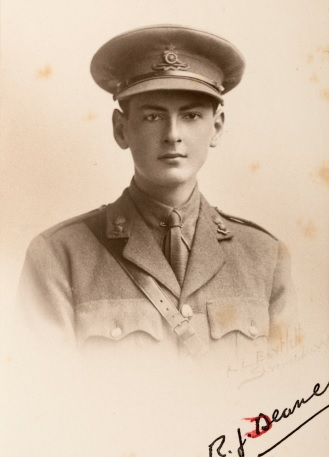 Richard Deane, Royal Field Artillery