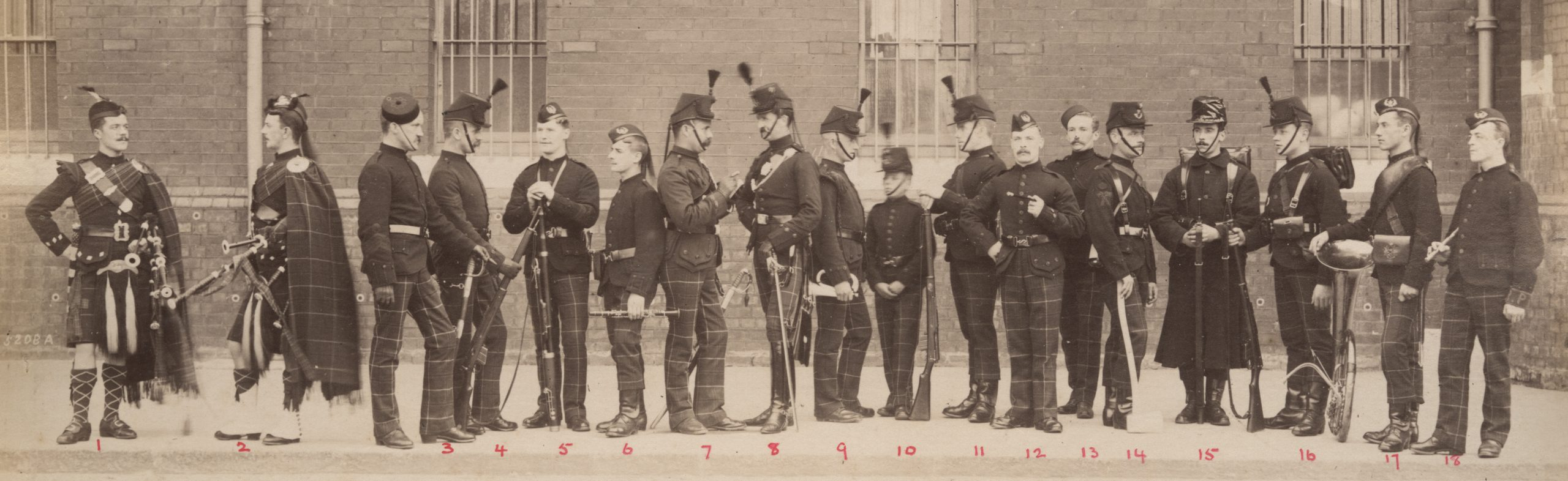 1st Cameronians, 1894